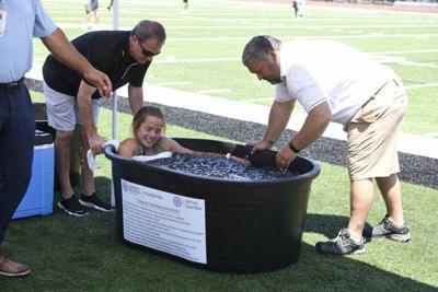 Norman Regional Foundation, Ortho Central donate cooling tubs to Oklahoma high schools