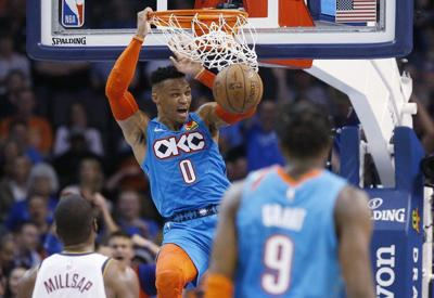 OKC Thunder: Grant gone, Westbrook's departure in play, what about Adams?