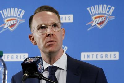Thunder Presti Basketball