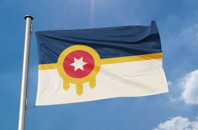 City of Tulsa flag