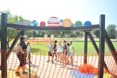 Engage Learning helps students design, build new playground