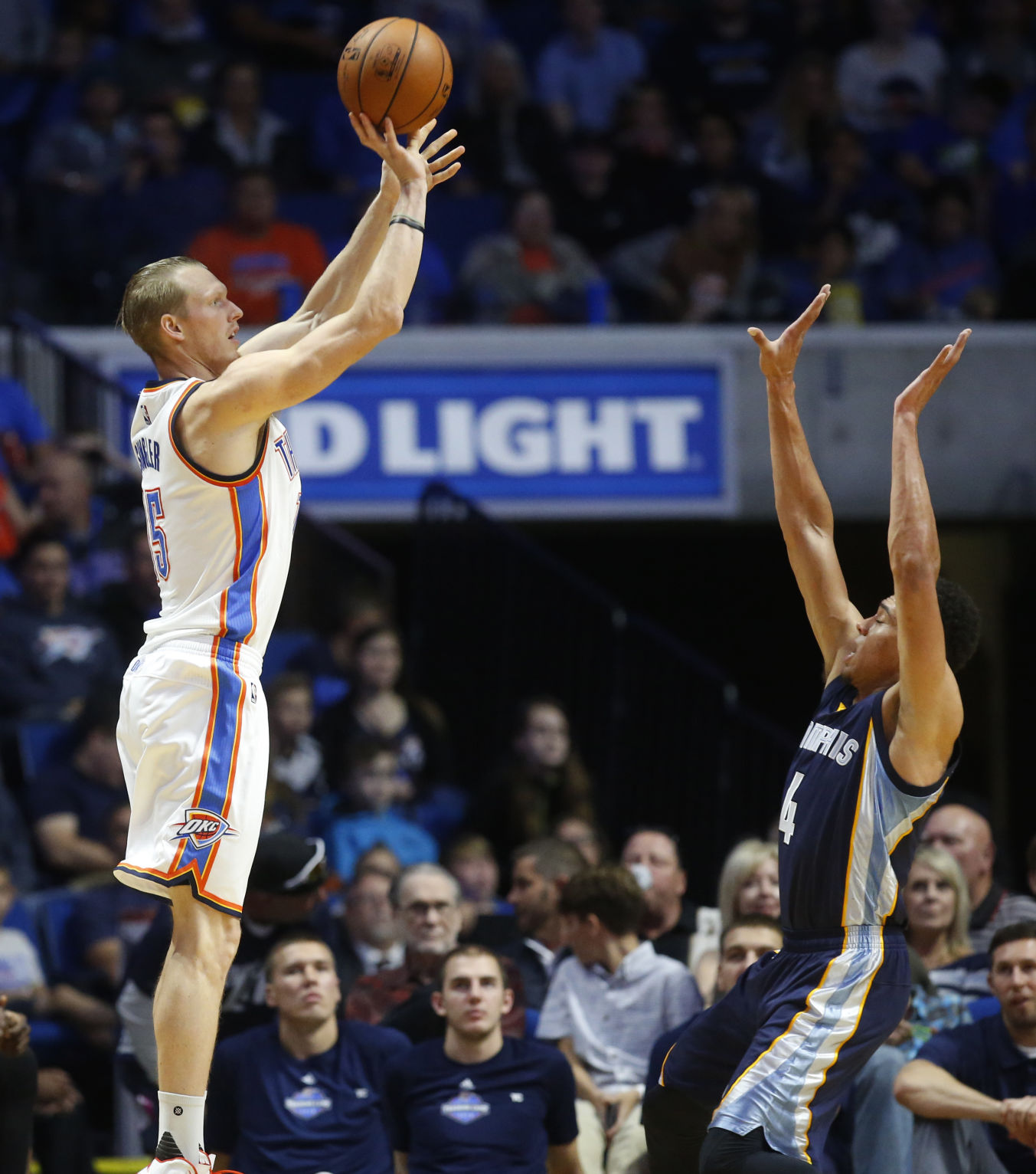 Grizzlies Thunder Basketball Thunder Player Evaluations Kyle