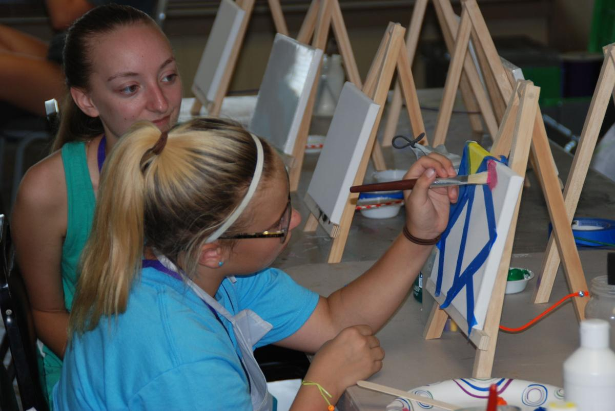 Royal Family Kids Camp Norman painting