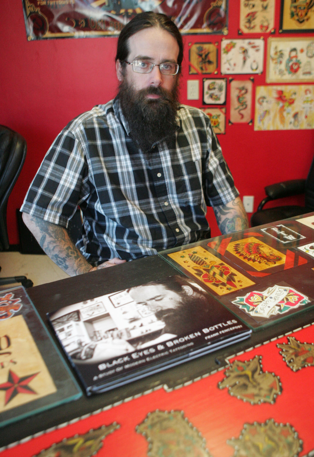 Norman tattoo artist refuses service to police business for Tattoo shops in norman