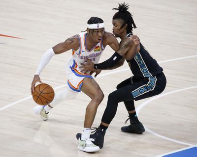 Grizzlies Thunder Basketball