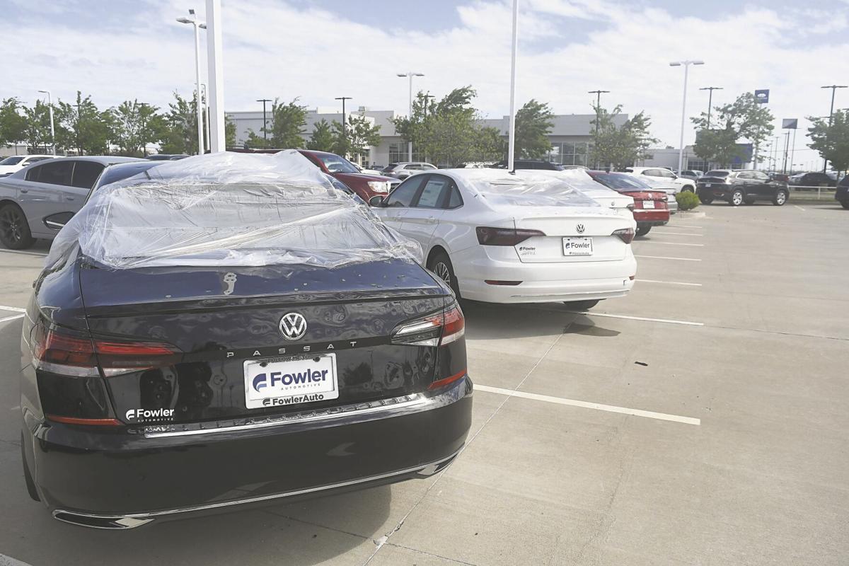 Norman Storm Damage Volkswagen