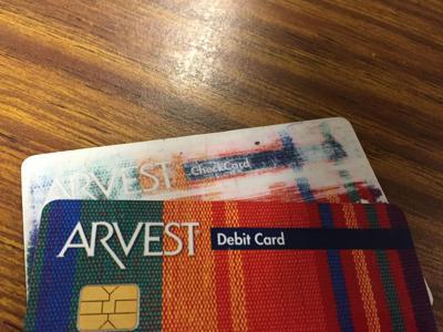 Arvest debit cards on the fritz   News   normantranscript com