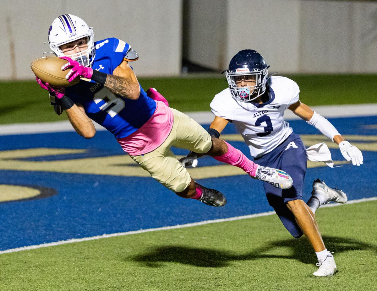 Altus vs Noble High School Football on October 7, 2021