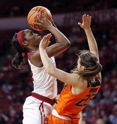 Freshmen backcourt making a difference for Oklahoma women