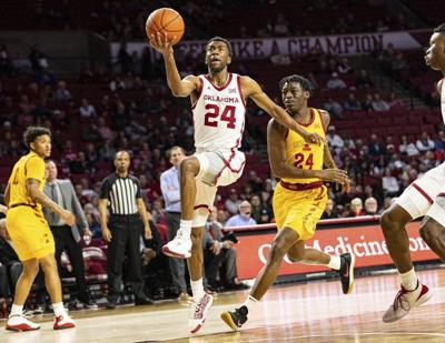 OU men's basketball: Sooners carry momentum while seeking elusive win at Kansas' Allen Fieldhouse