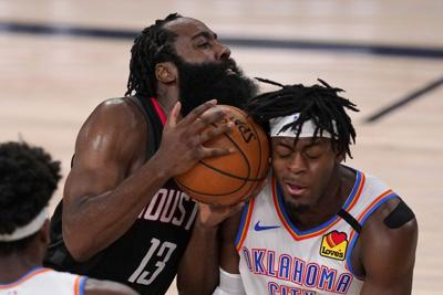 APTOPIX Thunder Rockets Basketball