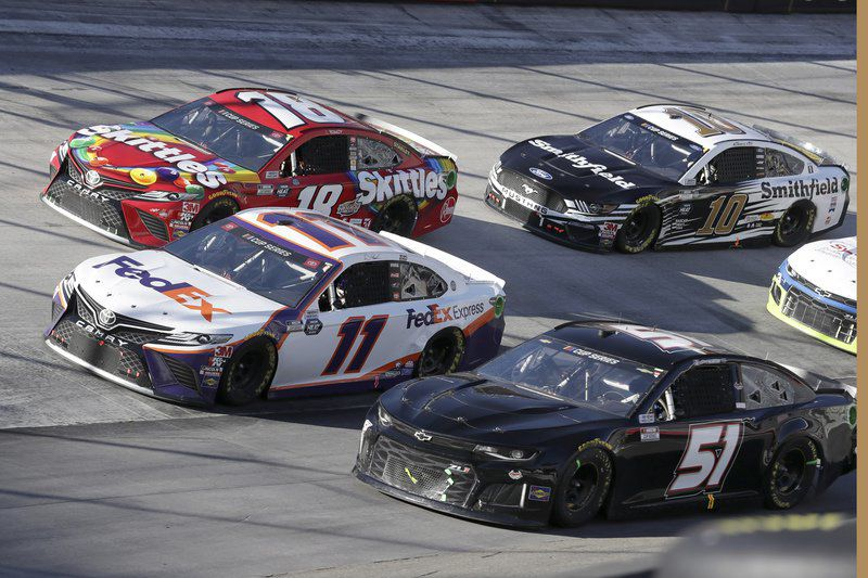 Another win falls into Brad Keselowski's lap in final moments at Bristol Motor Speedway
