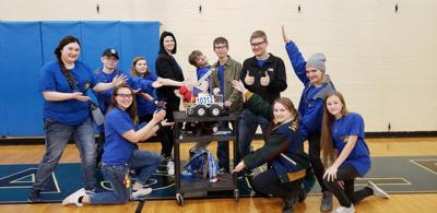 Noble BearBotics team heading to state competition