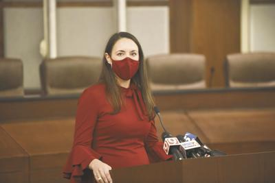 Mayor Breea Clark press conference