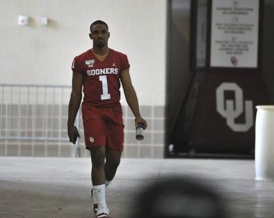 OU football:Officially in starter role, Jalen Hurts' main focus remains leadership