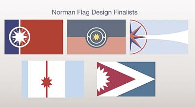 Norman flag designs