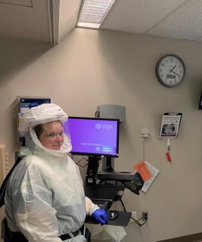 ICU Nurse PPE