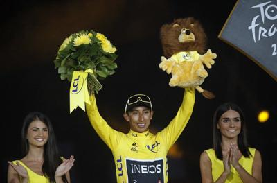 A star is born at the Tour: 22-year-old champion Egan Bernal