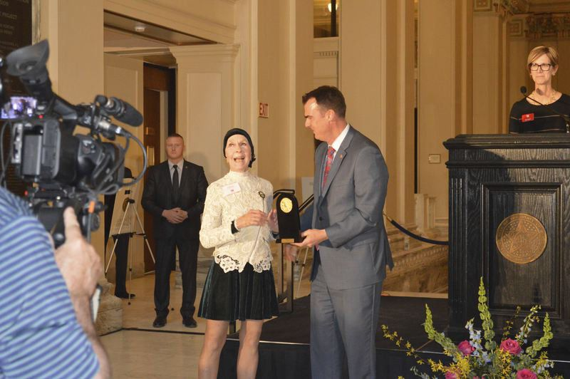 Stitt honors 3 Norman residentswith Governor's Arts Awards
