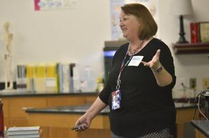 Teachers devote first day of fall break to professional development