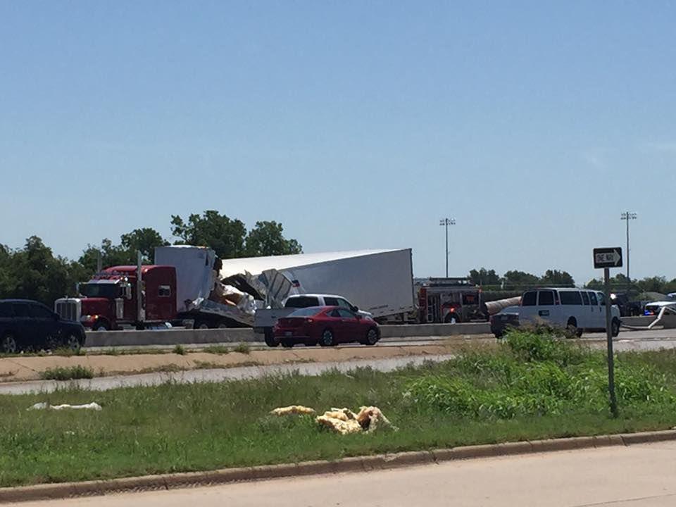 Orange crash: Semi crash brings traffic to standstill on I