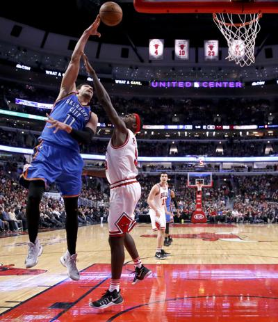 Enes Kanter S Passing Leads Thunder To Win Over Bulls Sports