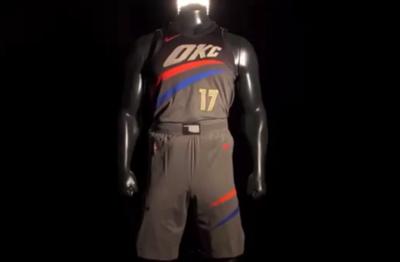 hot sale online de88e 45a1d Thunder unveil 'City' edition uniforms | Oklahoma ...