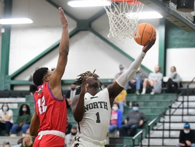 Norman North v Moore boy's Basketball
