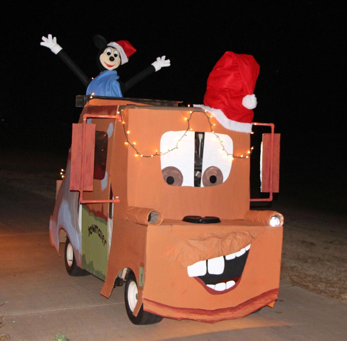 Xmas Golf Cart Parade Themes Html on