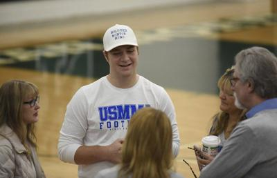SIGNING DAY: Norman North's Bo Kemmet has his dreams all lined up