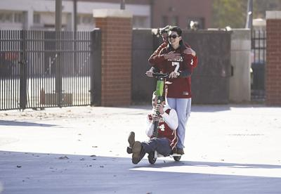Scooters in Norman