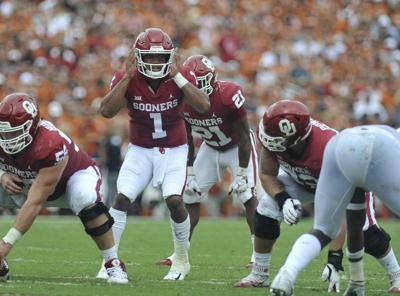 76c805d74 OU football  Kyler Murray bemoans two turnovers against Texas