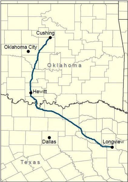 Portion Of Plains All American Pipeline To Run Through County - Us Map Of Pupelines In America