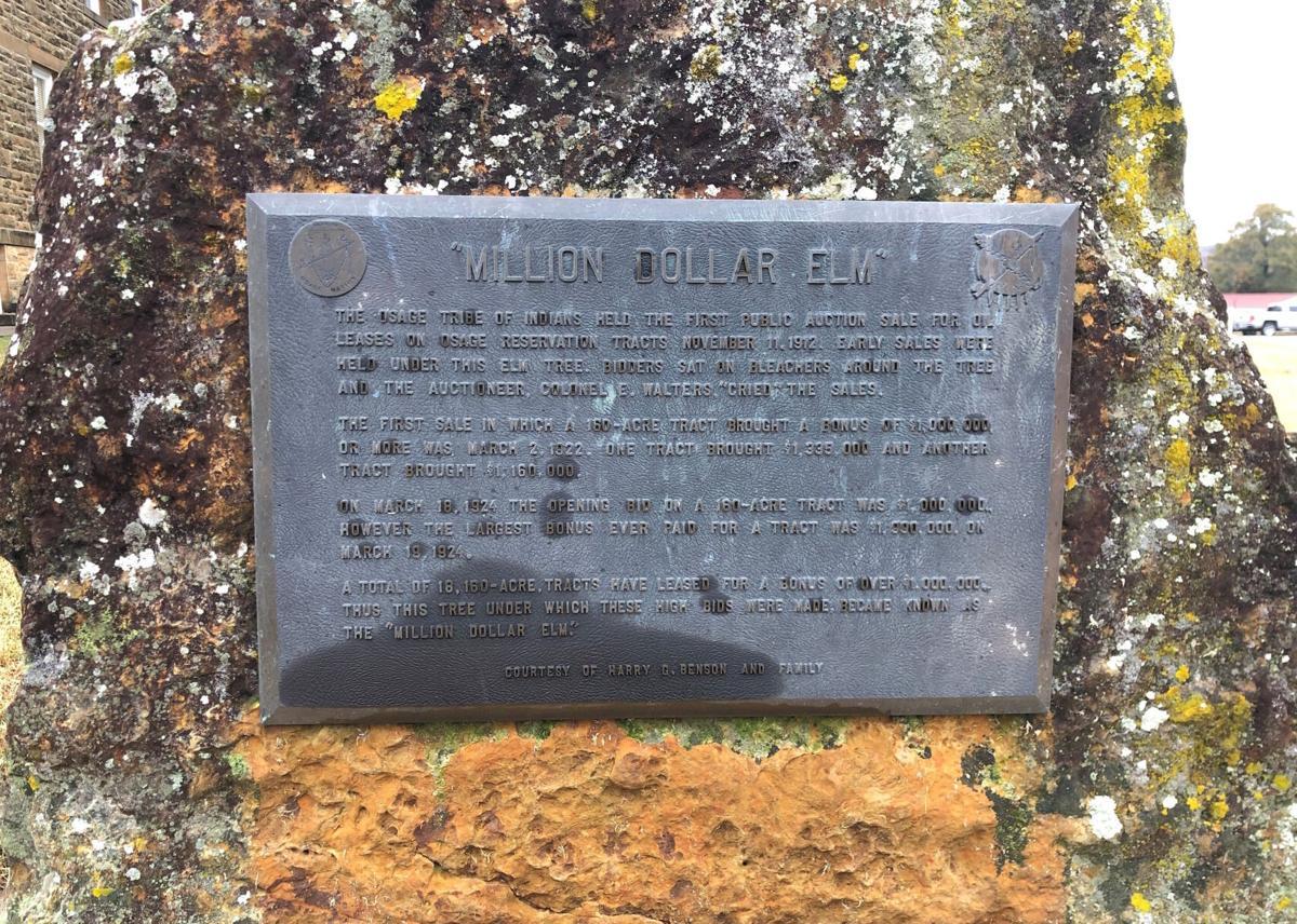 Osage Nation marker