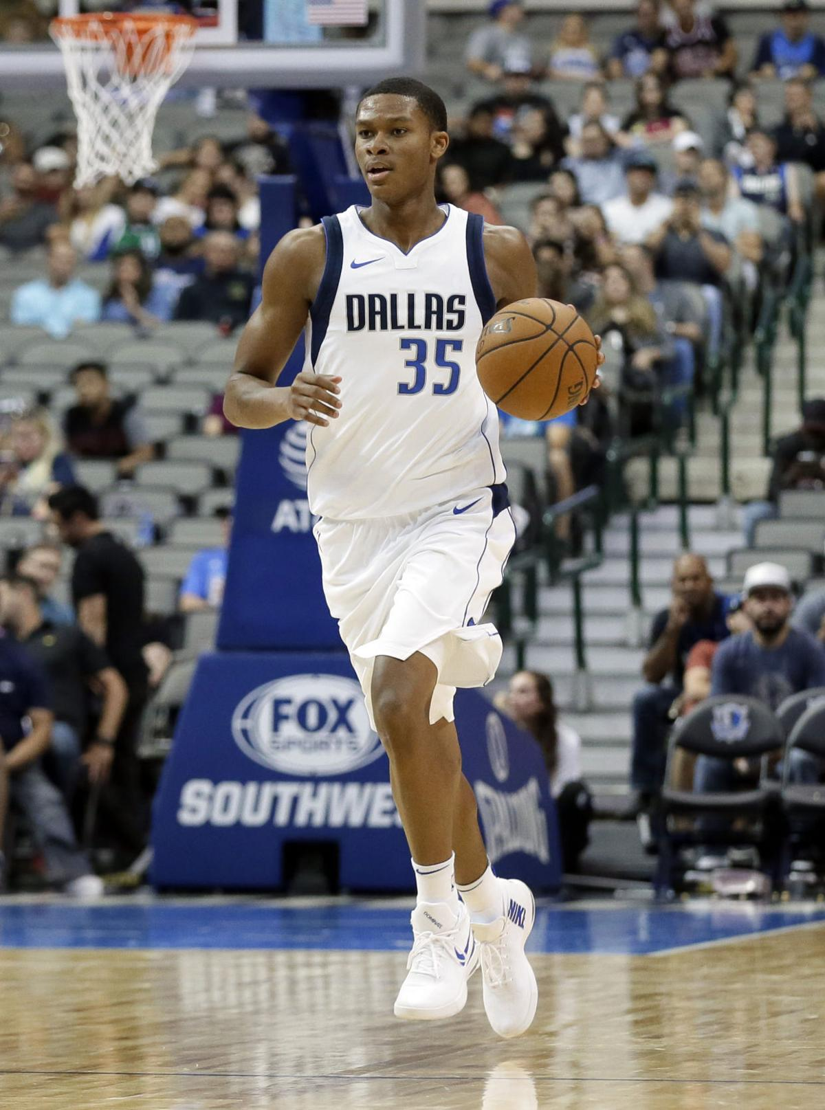 Thunder sign P J Dozier give him Kevin Durant s No 35