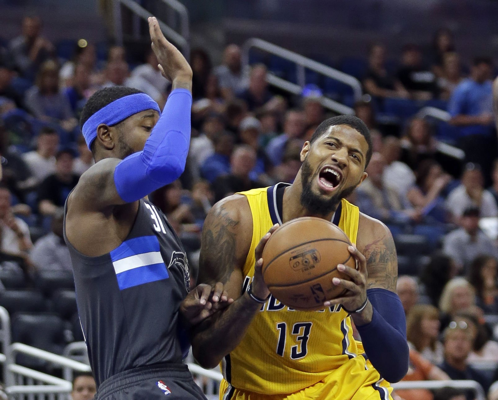 Pacers reportedly file tampering charges against Lakers for contact with Paul George