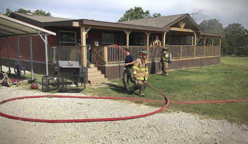 Morning fire damages Byng residence