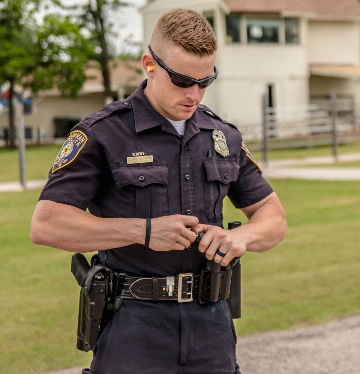 norman police officer named fittest cop in america news