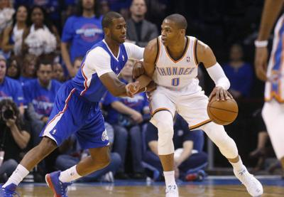 OKC Thunder: It's official, Westbrook offered high praise, Paul welcomed back to town