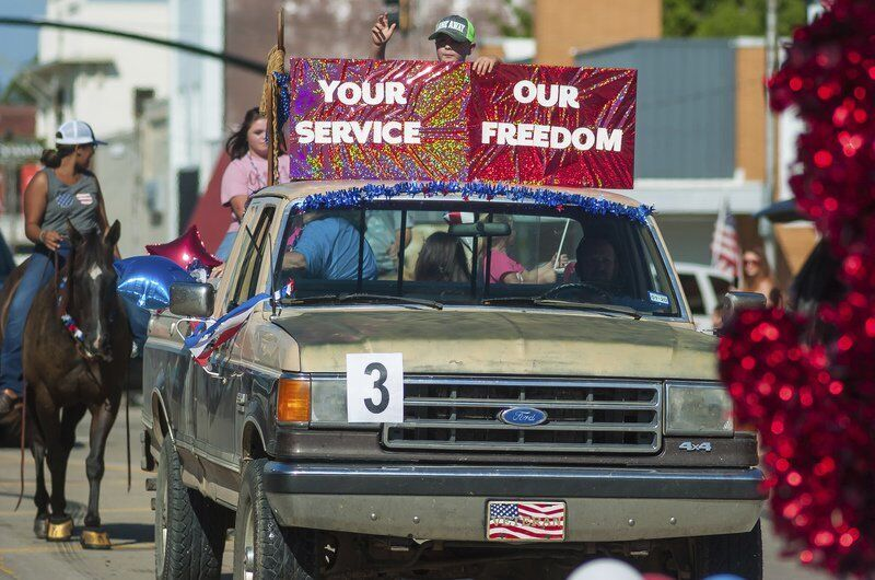 American Legion hosts belated Armed Forces Day parade Saturday