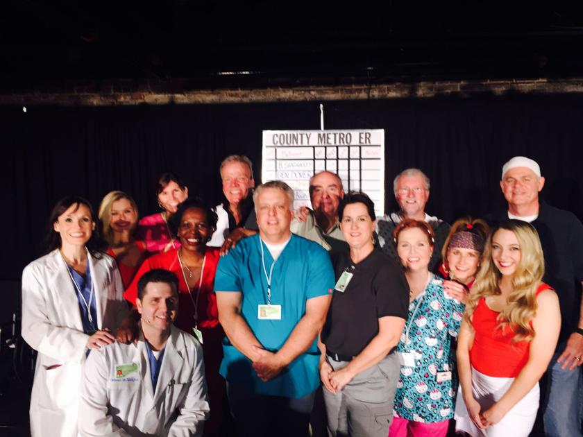 Sooner Theatre S Murder Mystery Delivers A Healthy Dose Of Laughter News Normantranscript Com