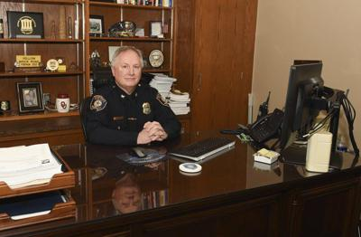 New police chiefmaintains teamwork approach with officers, employees