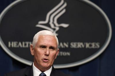 Pence cancels some political events