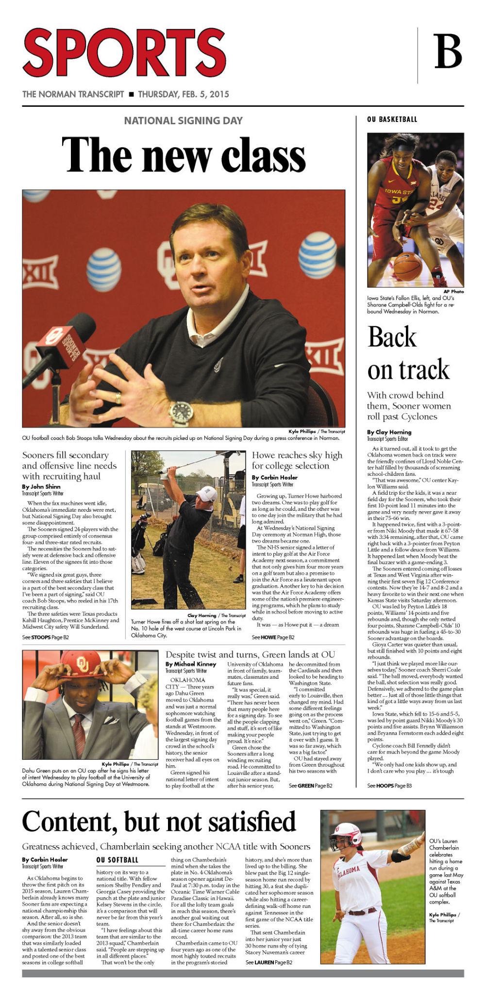 Long recruiting road lands Green at Oklahoma | Sports