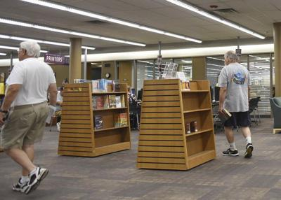 Central Library on Webster closes Monday