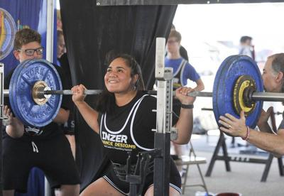NASA powerlifting competition brings out lifters from far and wide