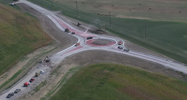Roundabout to open today