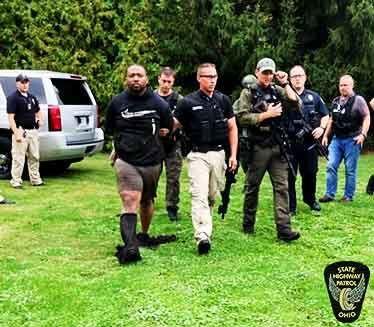 Shooting suspect caught