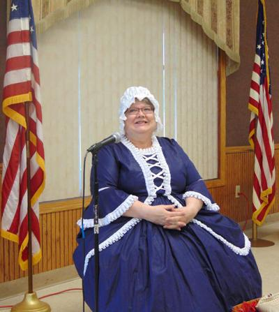 Betsy Ross visits local retired teachers' group | News