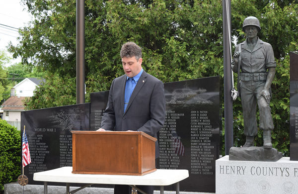 Memorial Day marked